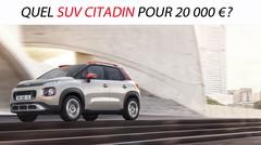 Quel SUV citadin pour 20000 €?