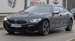 BMW Série 8 Gran Coupé : Le camouflage se réduit