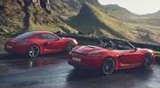 Porsche 718 T : les Boxster et Cayman au régime sportif