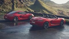 Porsche 718 Boxster et Cayman T (2019) : régime à tous les étages