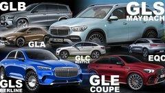 Futurs SUV Mercedes : une offensive sans précédent