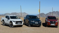 Essai pick-up Mitsubishi L200, Toyota Hilux, VW Amarok : Le Pick-up prend de l'altitude
