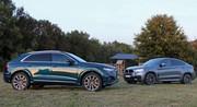 Essai BMW X6 30d vs Audi Q8 50 TDI : SU(r)V(et') !