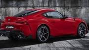Fuites : Premières photos officielles de la Toyota Supra