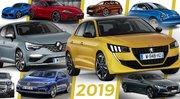 Les 19 nouveautés auto à suivre en 2019
