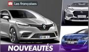 Les nouvelles voitures françaises qui arrivent en 2019