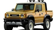 Le nouveau Suzuki Jimny, en robuste pick-up !