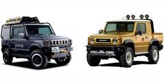 Deux concepts de Suzuki Jimny pour le salon de Tokyo