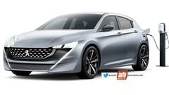 Future Peugeot 308 (2020) : de l'électricité dans l'air