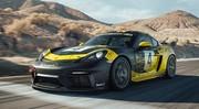 Porsche : Un flat six 3,8l pour le 718 Cayman GT4 Clubsport