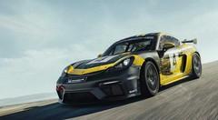 """Porsche Cayman GT4 """"Clubsport"""" : pour la piste et la compétition"""