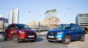 Essai Ford Ka + Active vs Dacia Sandero Stepway : nouvelle menace