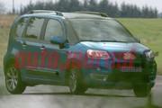Le futur monospace Citroën C3 : Les premières photos du micro-Picasso