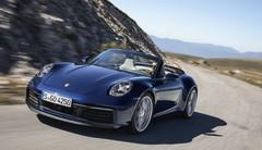 La Porsche 911 type 992 enlève le haut