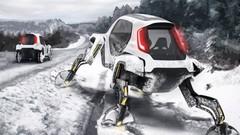 Le Hyundai Elevate dispose de roues… et de jambes !