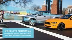 Ford envisage le C-V2X de série