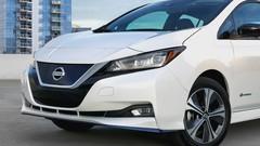 Nissan Leaf e+ (2019) : 215 ch et 385 km d'autonomie à présent