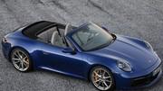 Porsche 911 Cabriolet 2019 : la nouvelle 911 (992) enlève le haut