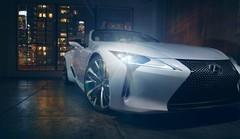 Lexus présente un concept de la LC Cabriolet