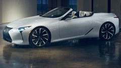 Lexus LC Convertible : un concept-car au salon de Détroit