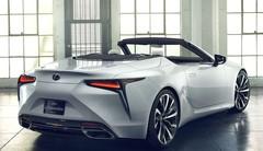 Lexus LC Convertible : Un concept à Detroit pour commencer