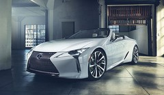 Lexus LC Cabrio : elle arrive enfin