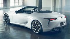 Lexus dévoile une LC cabriolet en concept