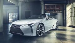 Lexus LC Cabriolet concept : il sera au salon de Detroit 2019