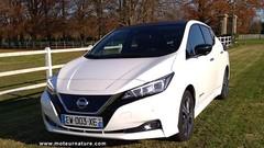 Nissan Leaf 40 kWh : Autonomie mesurée, performances comparées