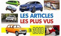 Les articles et vidéos les plus consultés sur L'argus en 2018