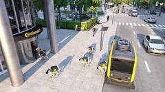Continental : livraison par navette autonome et robots canins