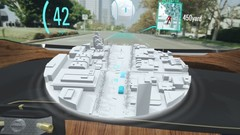 Nissan Invisible-to-visible : réalité augmentée