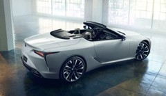 Cette Lexus LC Convertible Concept est le précurseur de la version cabriolet