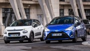 Essai : La Citroën C3 essence défie la Toyota Yaris hybride