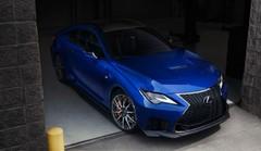 Lexus RC F (2019) : restylage et Track Edition à Detroit