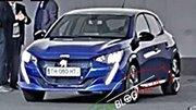 Peugeot 208 (2019) : Première photo volée de la nouvelle 208