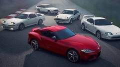 Toyota Supra : sculpturale