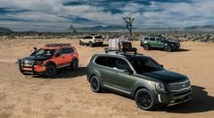 Toutes les photos du nouveau SUV Kia Telluride