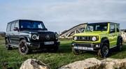 Essai Suzuki Jimny vs Mercedes Classe G : les dinosaures des temps modernes