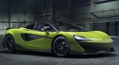 McLaren 600 LT Spider : Pistarde à ciel ouvert
