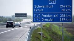 Allemagne: les autoroutes sans limitation de vitesse remises en cause