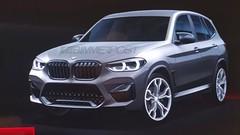 BMW : première image du X3 M