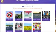 Grand débat national : un site pour les automobilistes