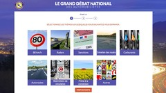 Grand débat national : les automobilistes invités à réagir