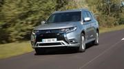 Essai Mitsubishi Outlander PHEV restylé : au courant de tout