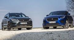 Essai Cupra Ateca et Jaguar E-Pace : 300 ch dans un SUV compact
