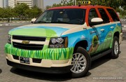 Des taxis hybrides pour l'émirat de Dubaï