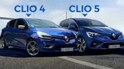 Nouvelle Renault Clio 5 face à la Clio 4 : le jeu des 7 différences