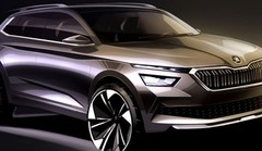 Škoda Kamiq : les esquisses