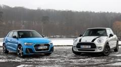 Essai Audi A1 vs Mini 5 portes : comme on se retrouve